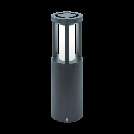 Садово-парковый светодиодный светильник Eglo Gisola 97252, IP44, LED 12W 3000K 1000lm, серый, белый, металл, пластик