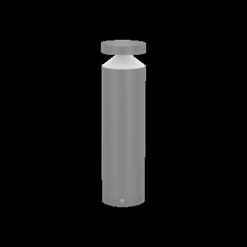 Садово-парковый светодиодный светильник Eglo Melzo 97631, IP44, LED 11W 3000K 950lm, серебро, прозрачный, металл, пластик