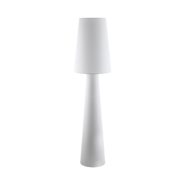 Торшер Eglo Carpara 97231, 2xE27x60W, белый, текстиль