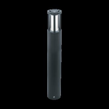 Уличный светодиодный фонарь Eglo Gisola 97253, IP44, LED 12W 3000K 1000lm, серый, белый, металл, пластик