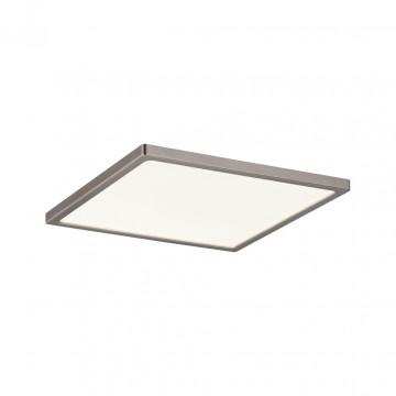 Встраиваемая светодиодная панель Paulmann Panel Areo IP44 dimmable 92939, IP44, LED 12W, никель, металл с пластиком