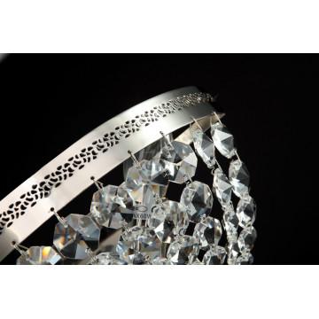 Бра Maytoni Ottilia DIA700-WL-02-N (p700-wb1-n), 2xE14x60W, никель, прозрачный, металл, хрусталь - миниатюра 3