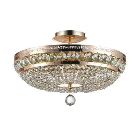 Потолочная люстра Maytoni Royal Classic Ottilia DIA700-CL-06-G (P700-PT45-G), 6xE14x60W, золото, прозрачный, металл, хрусталь