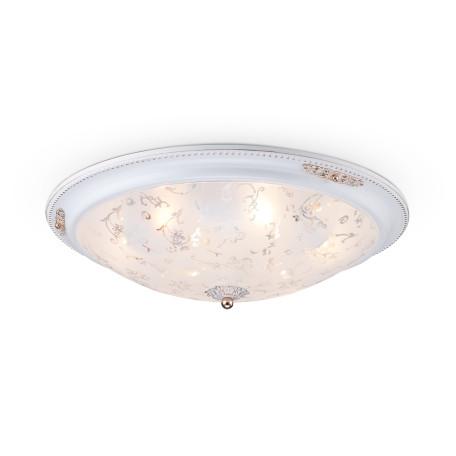 Потолочный светильник Maytoni Classic Diametrik C907-CL-06-W (CL907-06-W), 6xE27x40W, белый, металл, стекло