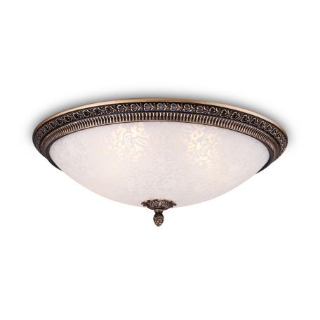 Потолочный светильник Maytoni Pascal C908-CL-04-R (cl908-04-r), 4xE27x40W, бронза, белый, металл, стекло