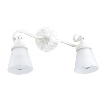 Потолочный светильник с регулировкой направления света Maytoni Classic Mia SP564-CW-02-W (ECO564-02-W), 2xE14x40W, белый, металл, стекло - миниатюра 2
