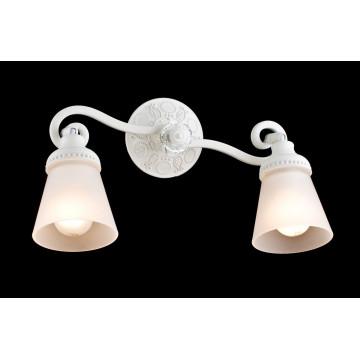 Потолочный светильник с регулировкой направления света Maytoni Classic Mia SP564-CW-02-W (ECO564-02-W), 2xE14x40W, белый, металл, стекло - миниатюра 3