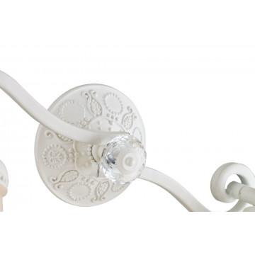 Потолочный светильник с регулировкой направления света Maytoni Classic Mia SP564-CW-02-W (ECO564-02-W), 2xE14x40W, белый, металл, стекло - миниатюра 4