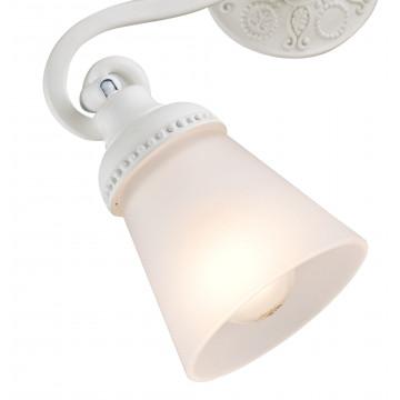 Потолочный светильник с регулировкой направления света Maytoni Classic Mia SP564-CW-02-W (ECO564-02-W), 2xE14x40W, белый, металл, стекло - миниатюра 5