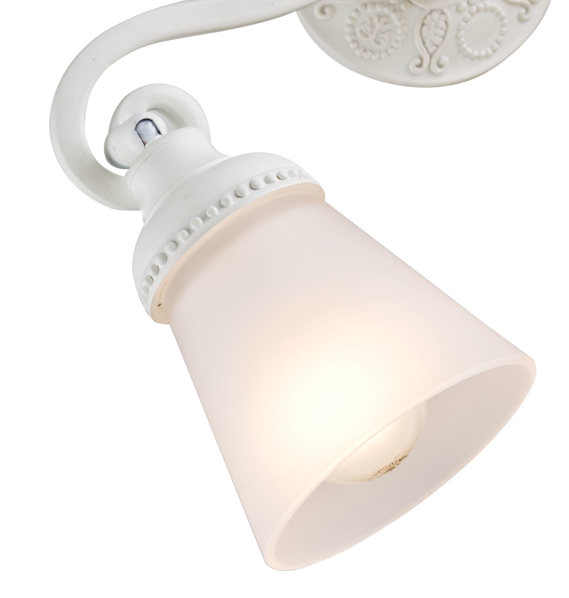 Потолочный светильник с регулировкой направления света Maytoni Classic Mia SP564-CW-02-W (ECO564-02-W), 2xE14x40W, белый, металл, стекло - фото 5