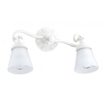 Потолочный светильник с регулировкой направления света Maytoni Mia SP564-CW-02-W (eco564-02-w), 2xE14x40W, белый, металл, стекло