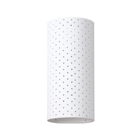 Настенный светильник Odeon Light Hightech Gips 4277/1W, 1xE14x40W, белый, гипс