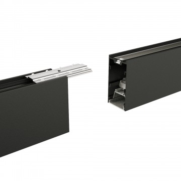 Коннектор для модульной системы Ideal Lux DRAFT STRUCTURE CONNECTOR 222813, черный