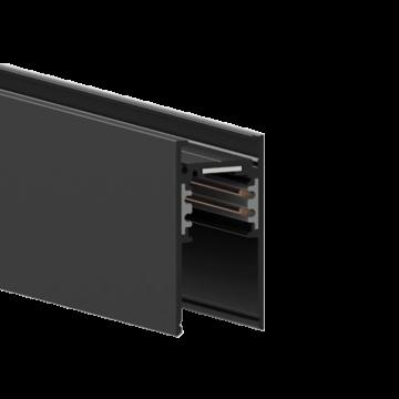 Магнитный шинопровод Ideal Lux OXY PROFILE 3000 mm HIGH 223995, черный, металл