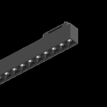 Светодиодный светильник для магнитной системы Ideal Lux ARCA ACCENT 60 CM 3000K 222936, LED 29W 3000K (теплый), черный, металл