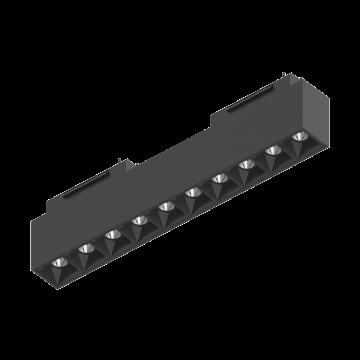 Светодиодный светильник для магнитной системы Ideal Lux ARCA ACCENT 30 CM 4000K 223001, LED 15W 4000K (дневной), черный, металл