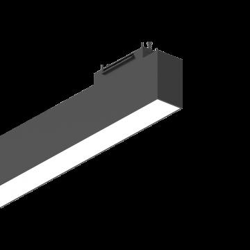 Светильник для магнитной системы Ideal Lux ARCA WIDE 60 CM 4000K 223032 4000K (дневной), белый, черный, металл, пластик