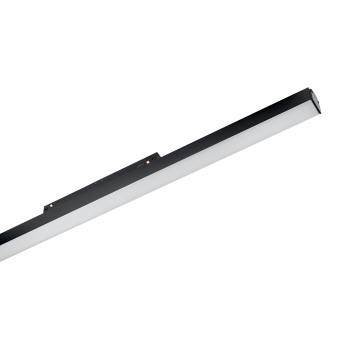 Светодиодный светильник для магнитной системы Ideal Lux OXY WIDE 1125mm 3000K 224060, LED 26W 3000K (теплый), черный, металл, пластик