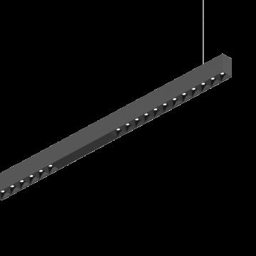 Светодиодный светильник для модульной системы Ideal Lux DRAFT 1-10V 3000K BLACK 222776, LED 50W 3000K 5800lm, черный, металл