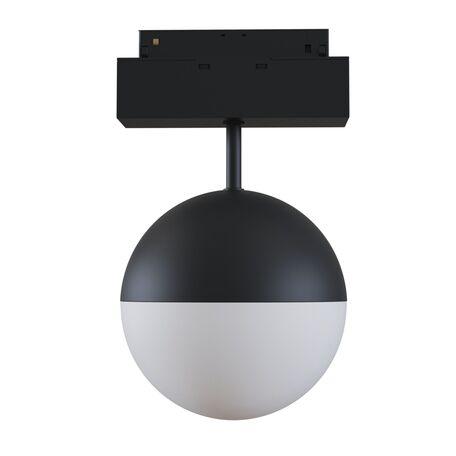 Светильник для магнитной системы Maytoni TR017-2-10W3K-B, черный, черно-белый, металл, металл с пластиком