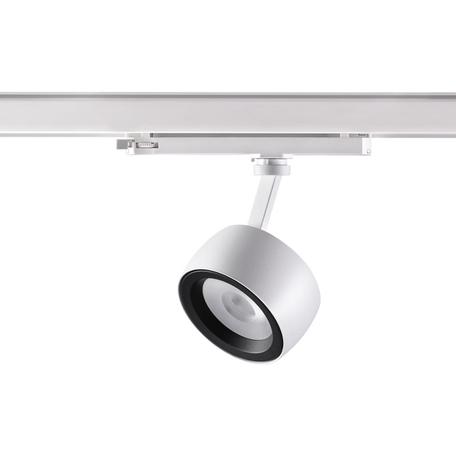 Светодиодный светильник Novotech Port Helix 358172, LED 20W 4000K 1536lm, белый, белый с черным, металл