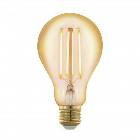 Филаментная светодиодная лампа Eglo 11691 груша E27 4W, 1700K (теплый) CRI>80, гарантия 5 лет