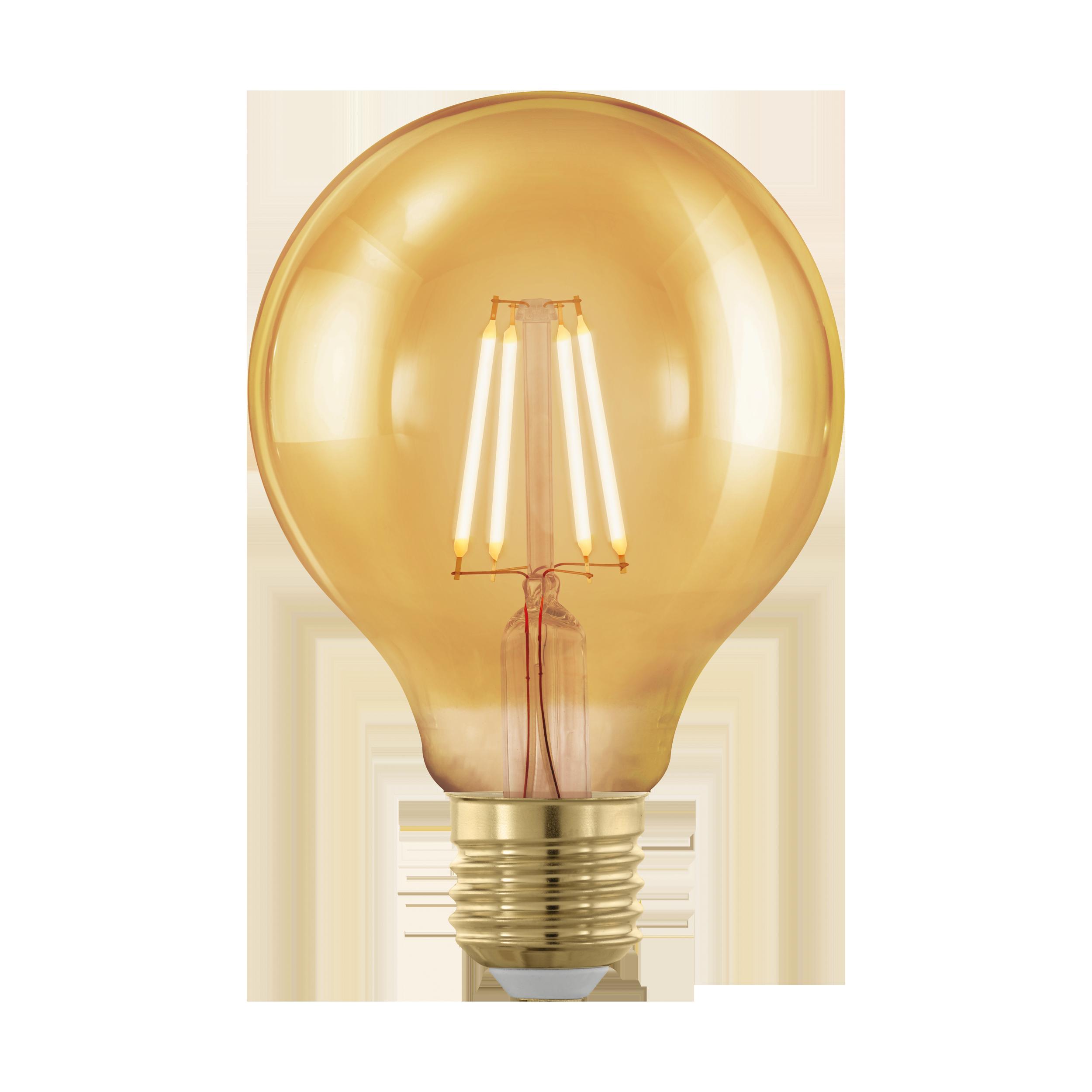 Филаментная светодиодная лампа Eglo 11692 E27 4W, диммируемая - фото 1