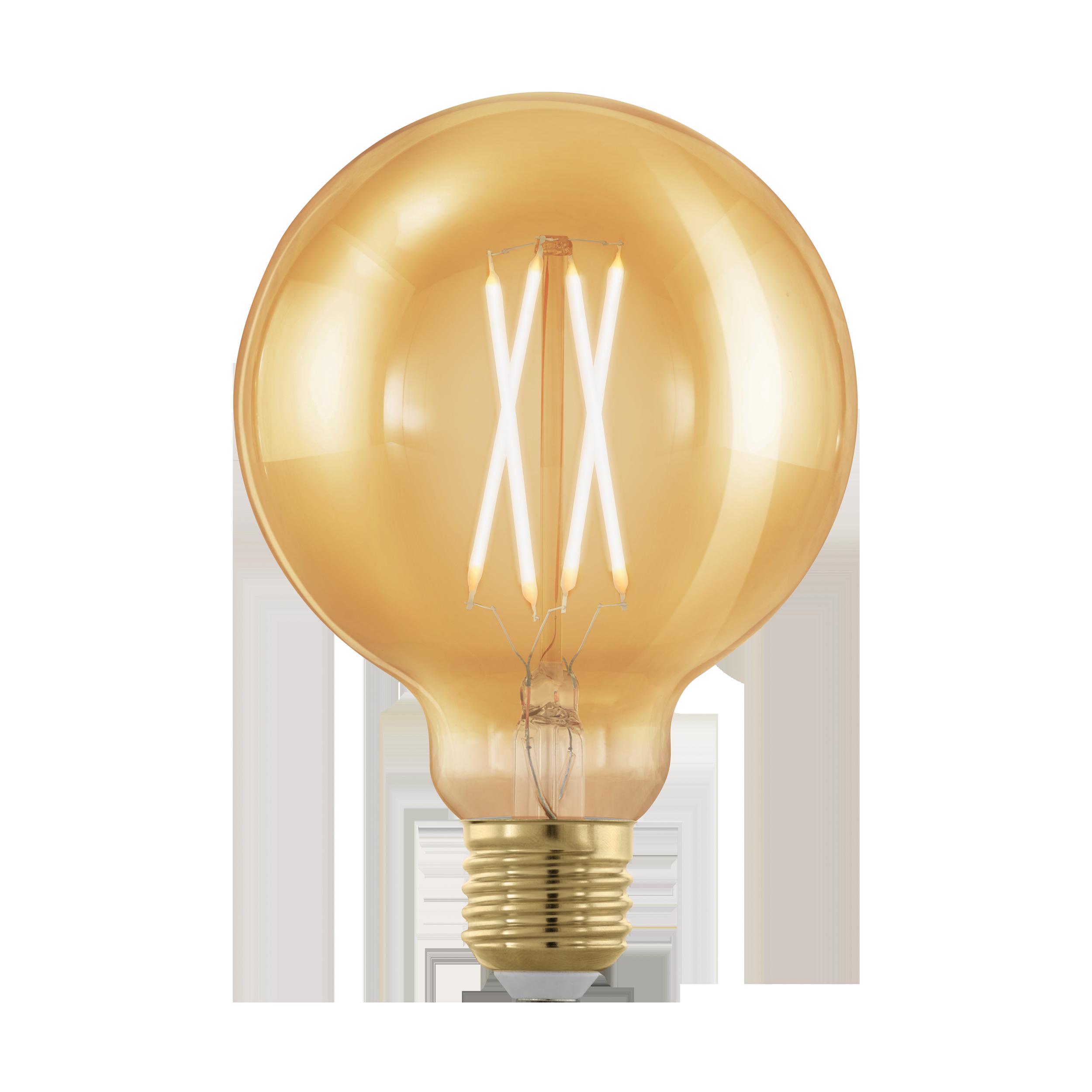 Филаментная светодиодная лампа Eglo 11693 E27 4W, диммируемая - фото 1
