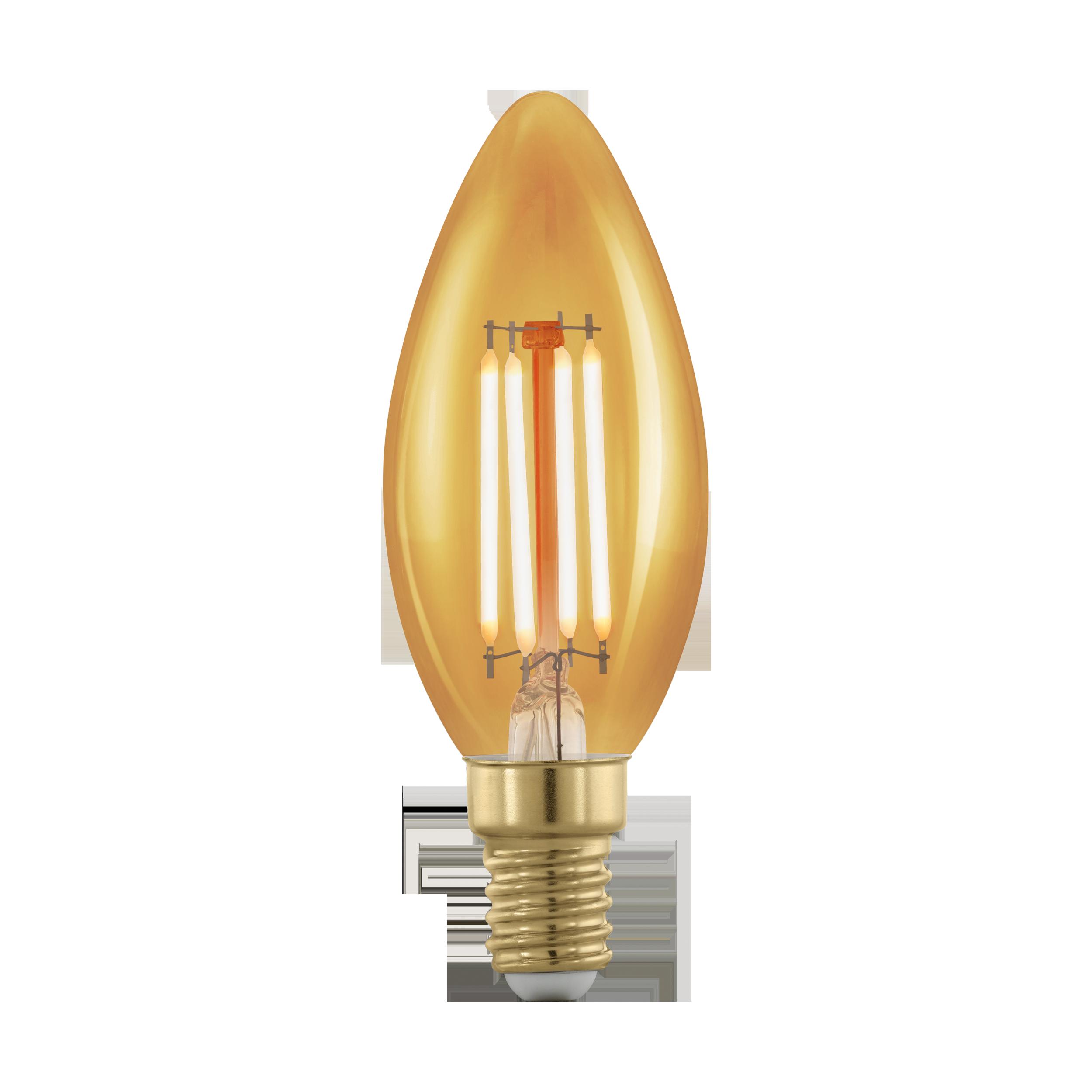 Филаментная светодиодная лампа Eglo 11698 E14 4W, диммируемая - фото 1