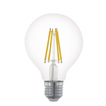 Филаментная светодиодная лампа Eglo 11702 E27 6W, диммируемая