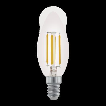 Филаментная светодиодная лампа Eglo 11704 E14 3,5W, диммируемая