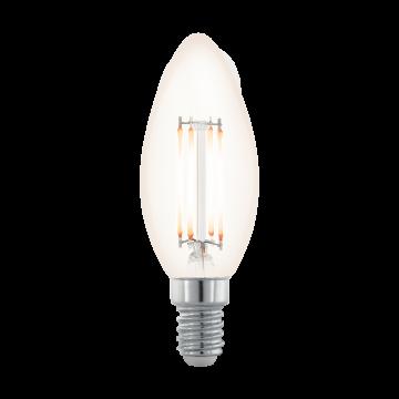 Филаментная светодиодная лампа Eglo 11708 E14 3,5W, диммируемая