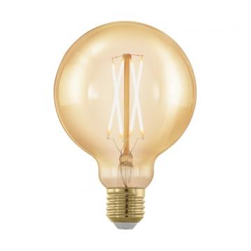 Филаментная светодиодная лампа Eglo 11693, пошаговое диммирование