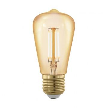 Филаментная светодиодная лампа Eglo 11695, пошаговое диммирование