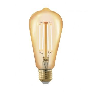 Филаментная светодиодная лампа Eglo 11696, пошаговое диммирование