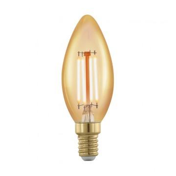 Филаментная светодиодная лампа Eglo 11698, пошаговое диммирование