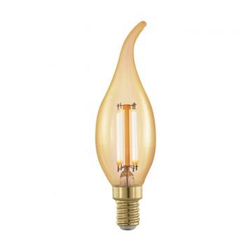 Филаментная светодиодная лампа Eglo 11699, пошаговое диммирование