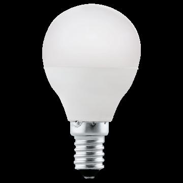 Светодиодная лампа Eglo 10759 шар E14 4W, 4000K (дневной), гарантия 5 лет