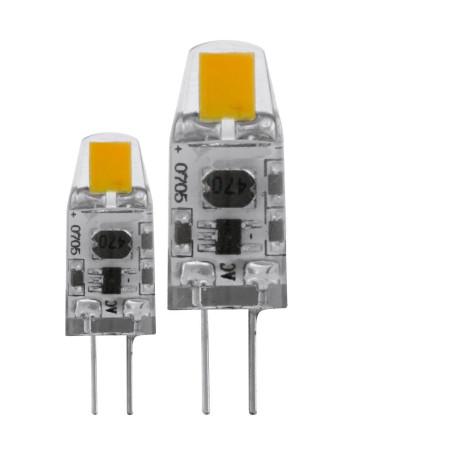 Светодиодная лампа Eglo 11551 капсульная G4 1,2W, 2700K (теплый) CRI>80, диммируемая, гарантия 5 лет