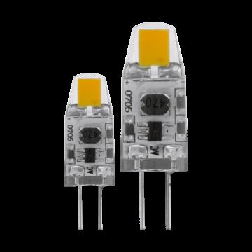 Светодиодная лампа Eglo 11551 капсульная G4 1,2W, 2700K (теплый), диммируемая, гарантия 5 лет