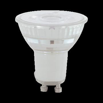 Светодиодная лампа Eglo 11575 MR16 GU10 5,2W, 3000K (теплый) CRI>80, диммируемая, гарантия 5 лет