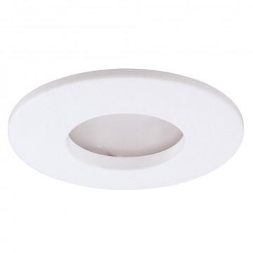 Встраиваемый светильник Arte Lamp Instyle Aqua A5440PL-1WH, IP44, 1xGU10x50W, белый, металл, стекло