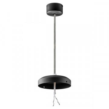 Набор для подвесного монтажа светильника Lightstar Zolla 590067, черный, металл