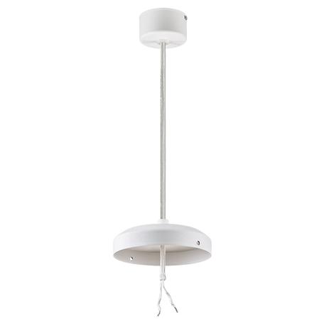 Основание подвесного светильника Lightstar Zolla 590066, белый, металл