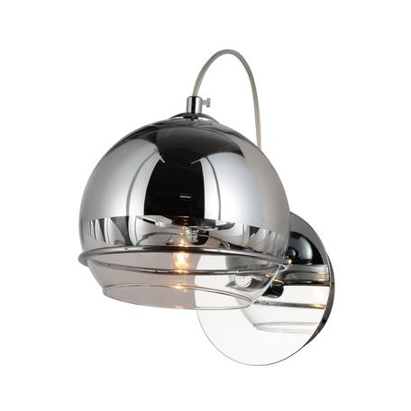 Настенный светильник Lumina Deco Veroni LDW 1029-1 CHR, 1xG9x40W, хром, металл, стекло