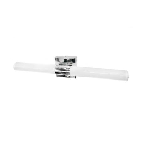 Настенный светодиодный светильник Lumina Deco Peggi LDW 6057-600 CHR, LED 8W, хром, белый, металл, пластик