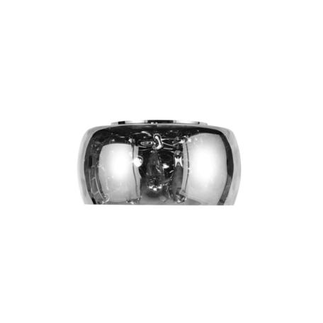 Настенный светильник Lumina Deco Rubina LDW 8044-1 CHR, 4xG4x20W, хром, дымчатый, прозрачный, металл, стекло, хрусталь