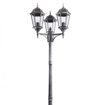 Arte Lamp Genova A1207PA-3BS, IP44, 3xE27x75W, прозрачный