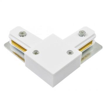 L-образный соединитель для шинопровода Arte Lamp Instyle A120033, белый, пластик, металл