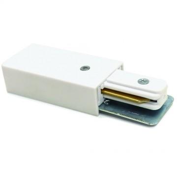 Подвод питания для шинной системы Arte Lamp Instyle A160033, белый, пластик, металл